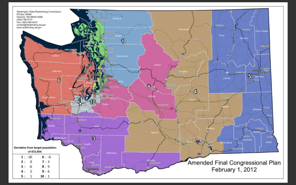 Washington State Congressional Districts