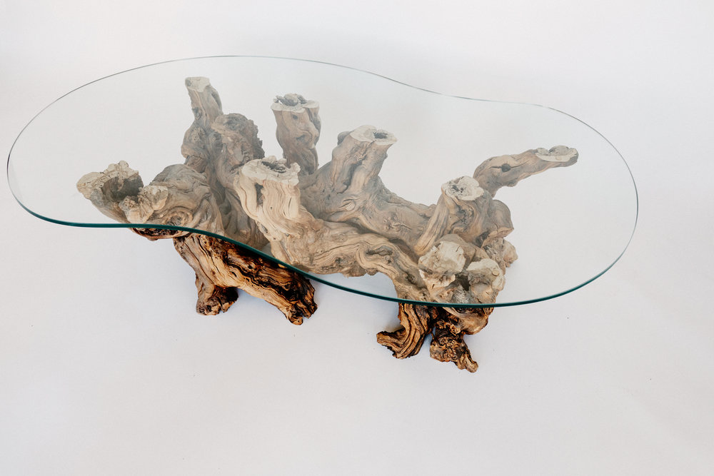Grapevine Root Coffee Table