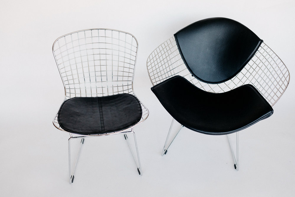 Chrome Wire Chairs