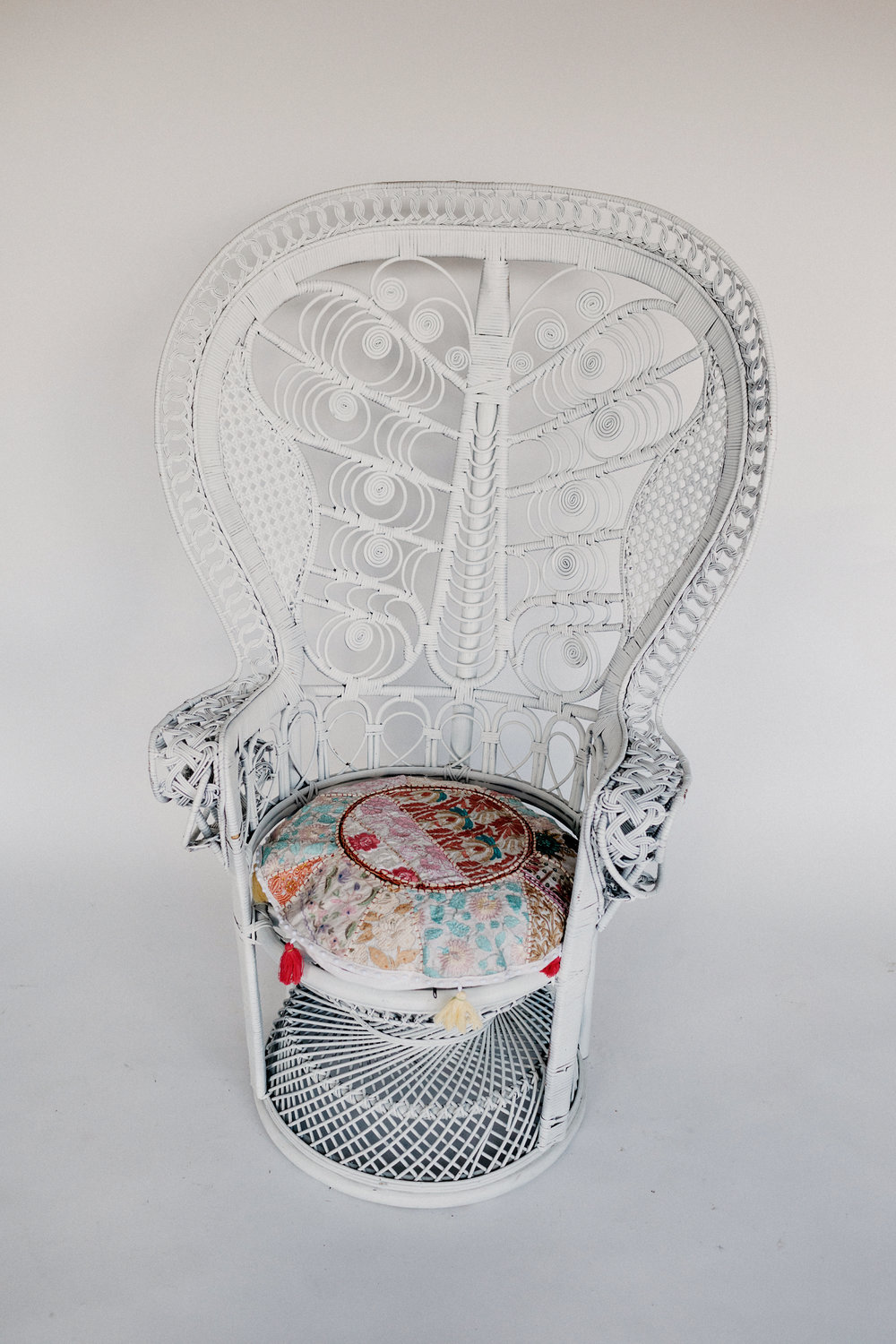 Mariah Peacock Chair