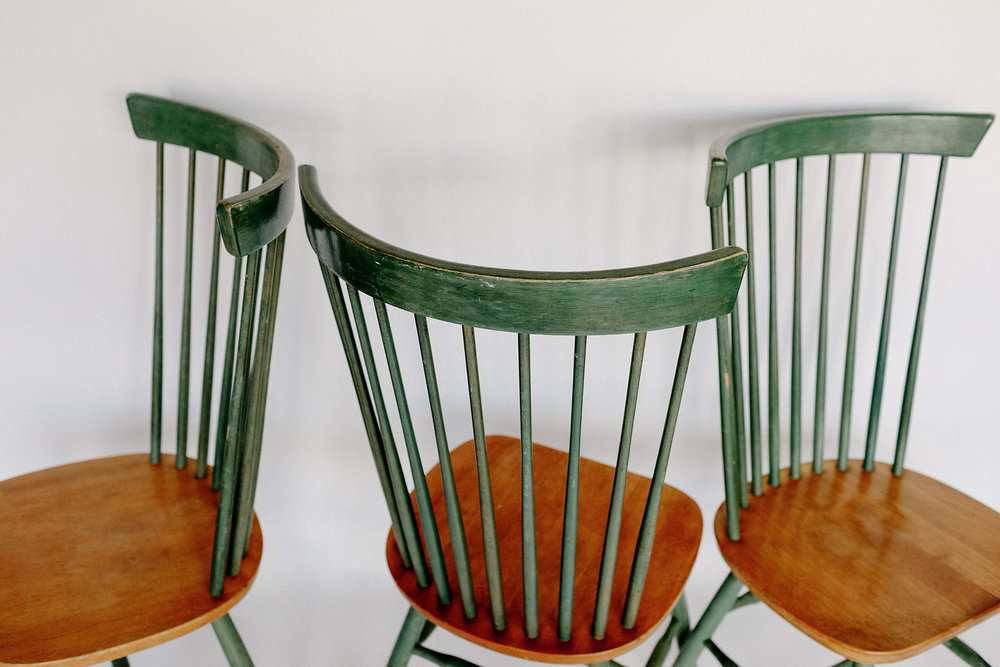 Green Farmhouse Chairs