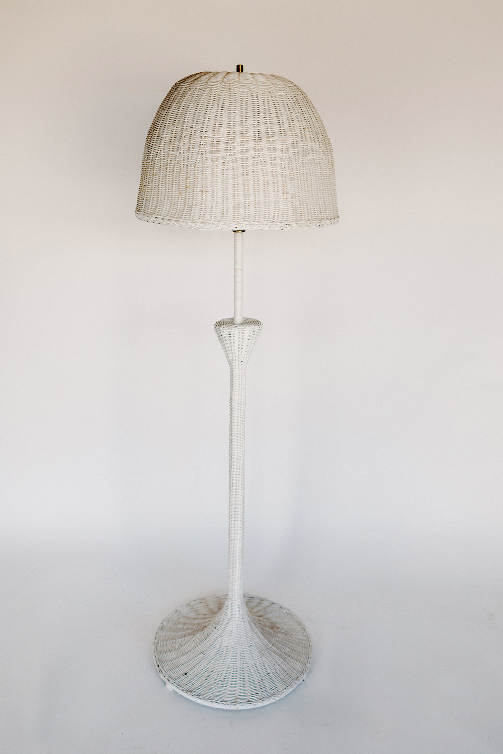 Dottie Rattan Floor Lamp