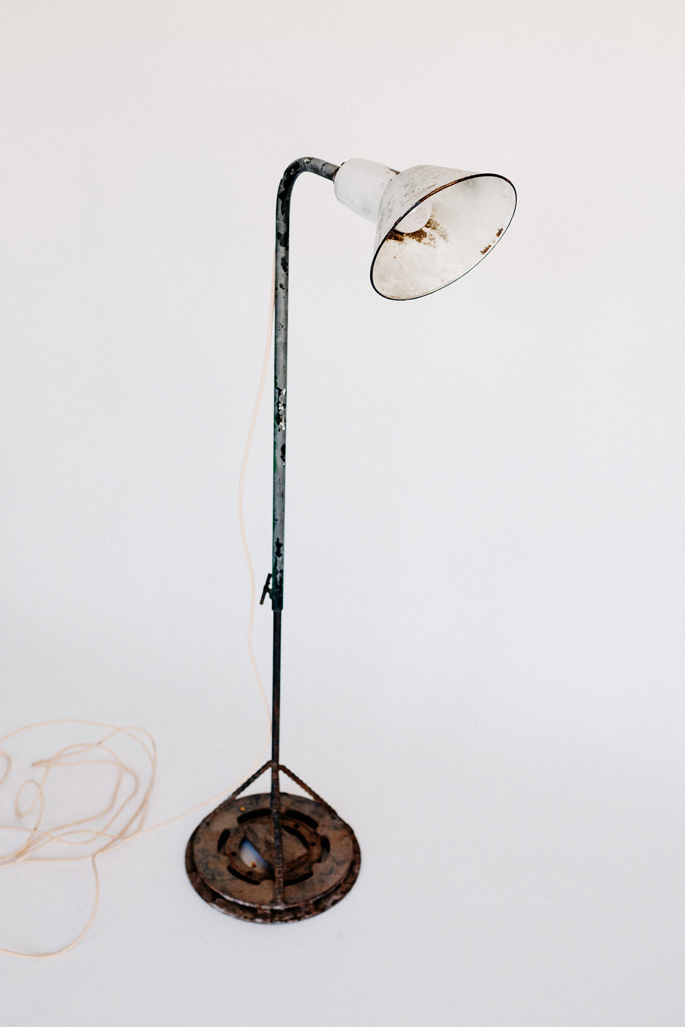 Industrial Worklight Floor Lamp