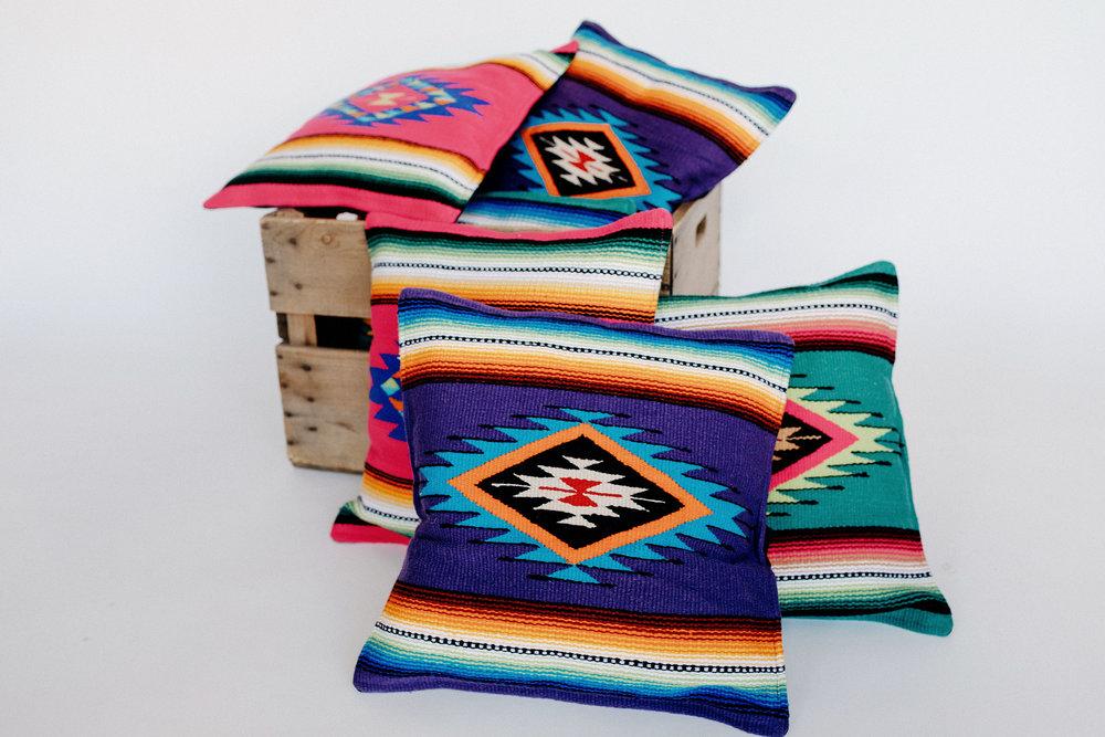 Sayulita Serape Pillows