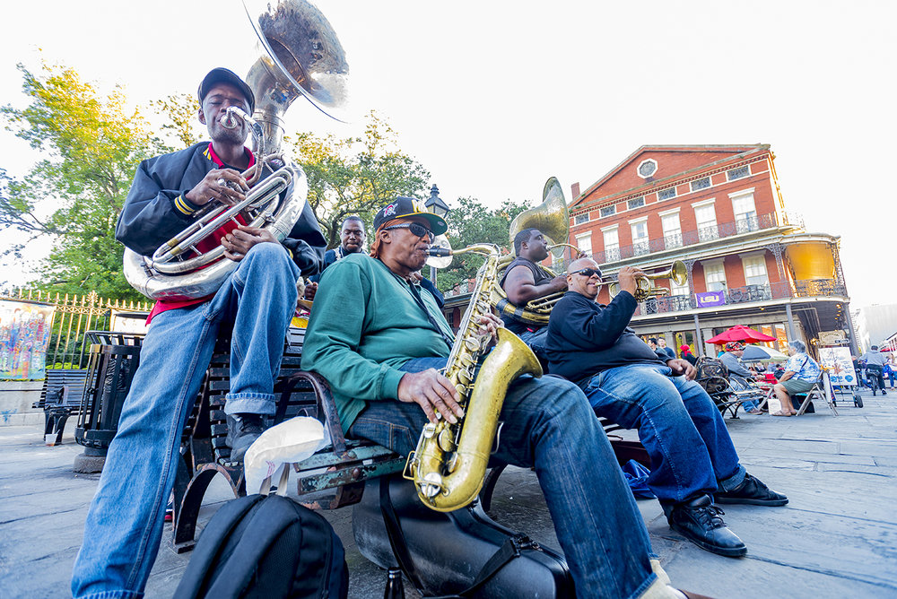 9.   Jazz group in New Orlean's French Quarter.jpg