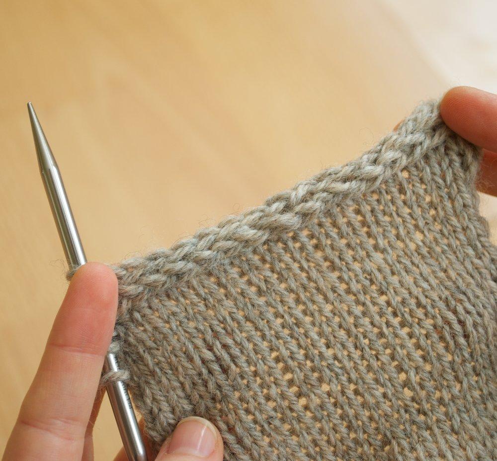Knitting Last Stitch Bind Off : I-Cord Bind-Off   Andrea Rangel