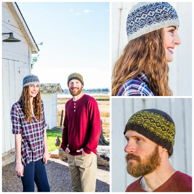 Rugged Knits Pattern Highlight Boreal Toque Andrea Rangel