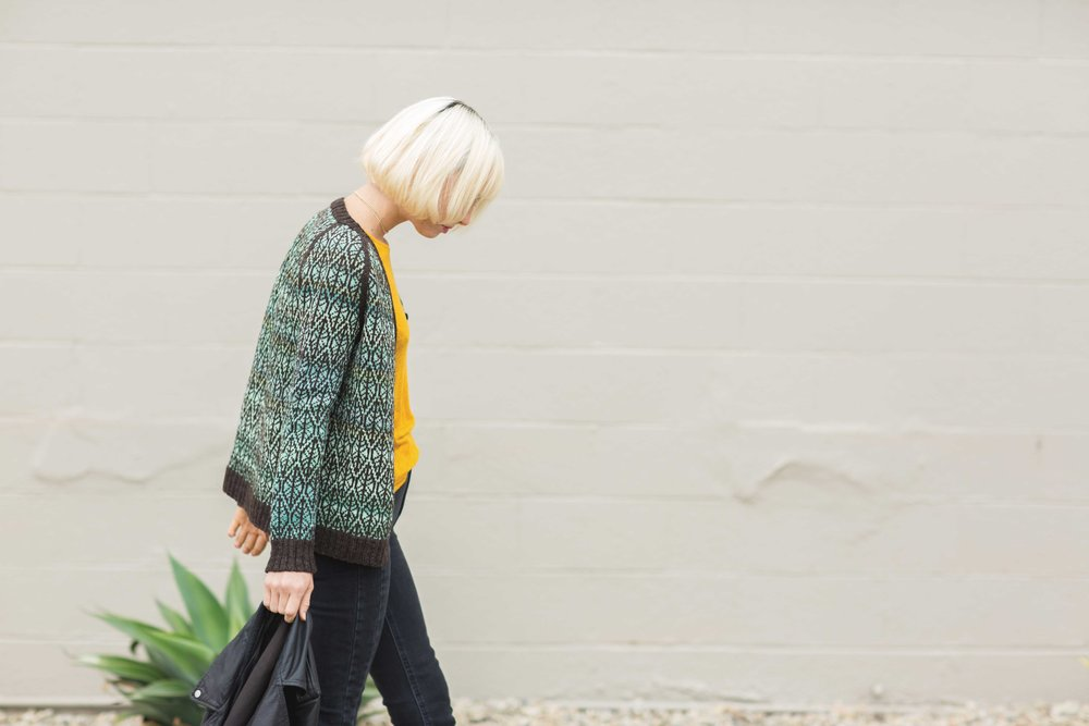 Leaves in Water Cardigan