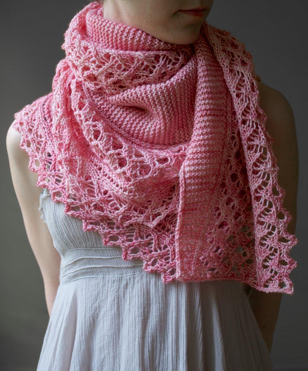 Ume Lace Shawl Pattern