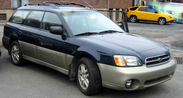 2000 Outback wagon