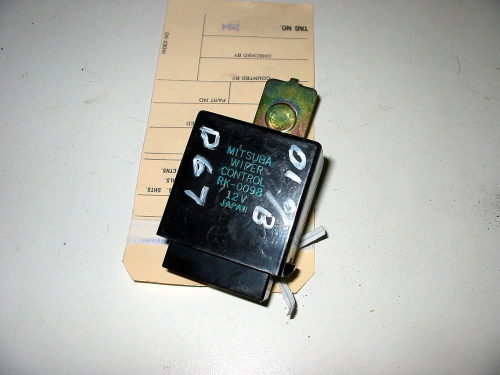 Control unit, wiper (00-04 Legacy)