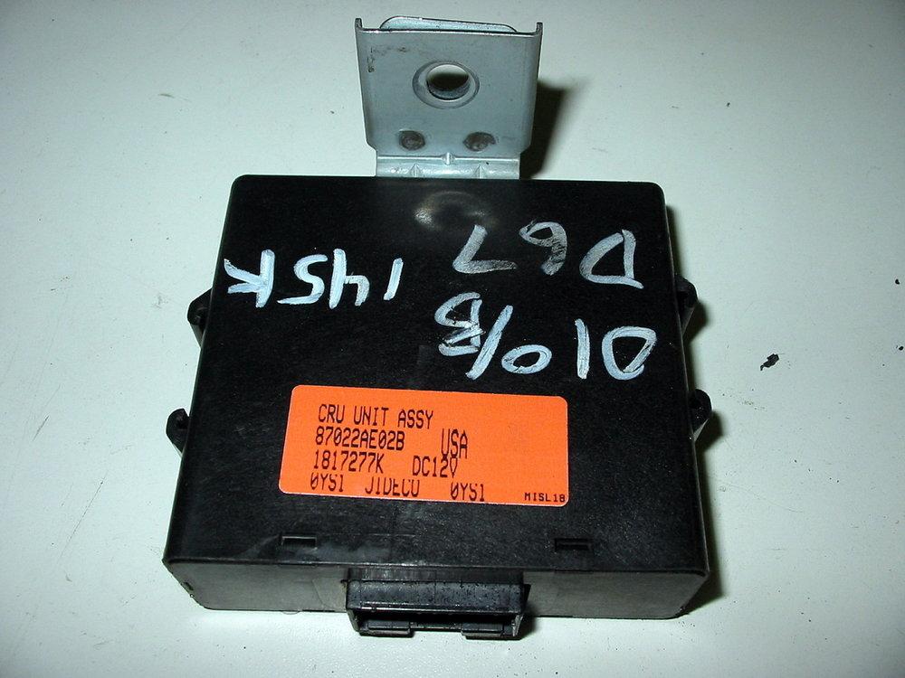 Control unit, cruise (00-04 Legacy)