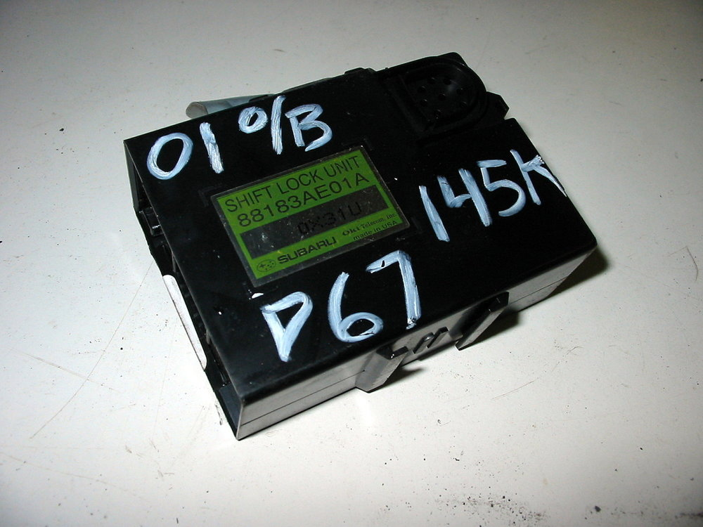 Control unit, shift lock (00-04 Legacy)