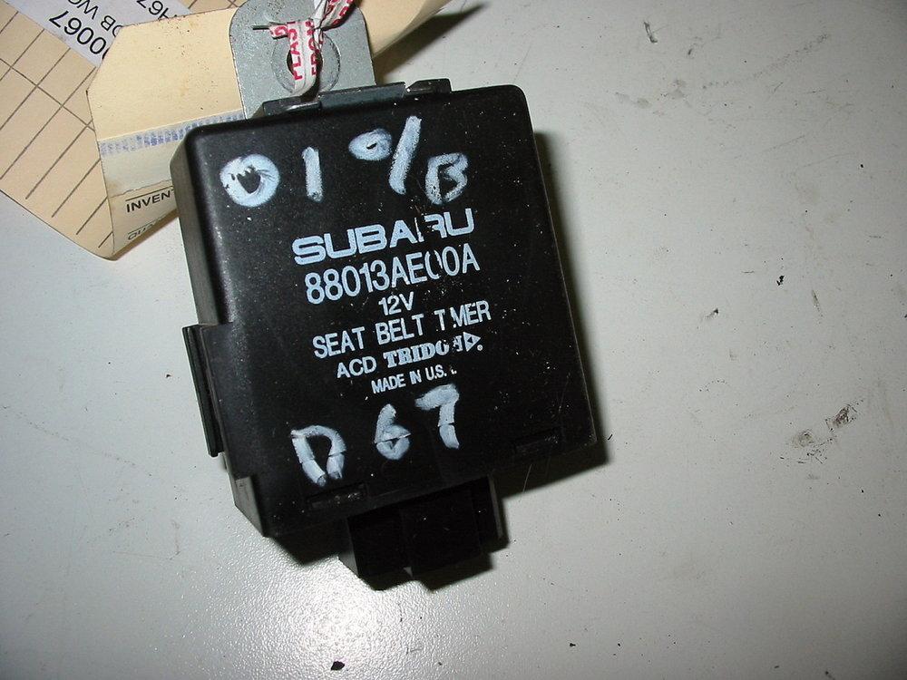 Control unit, seat belt timer (00-04 Legacy)
