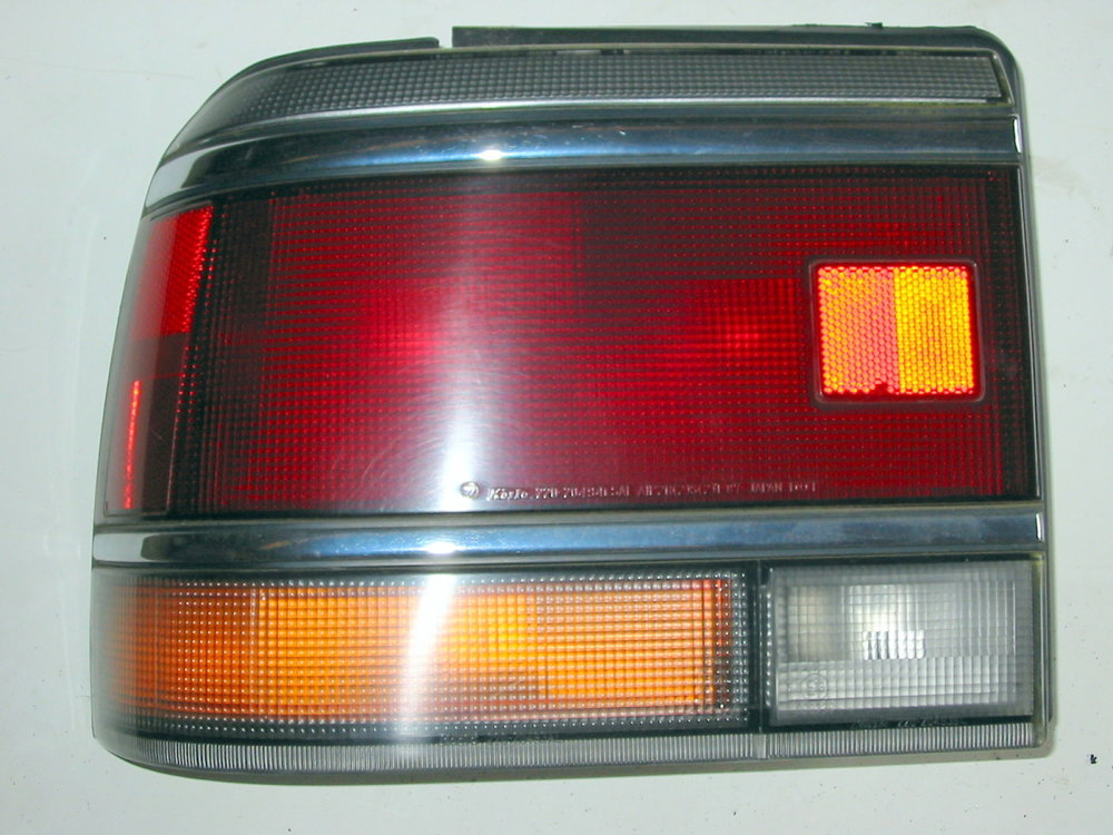 Light, taillamp assembly, sedan, 90-91, LH (1990-1994 Legacy)