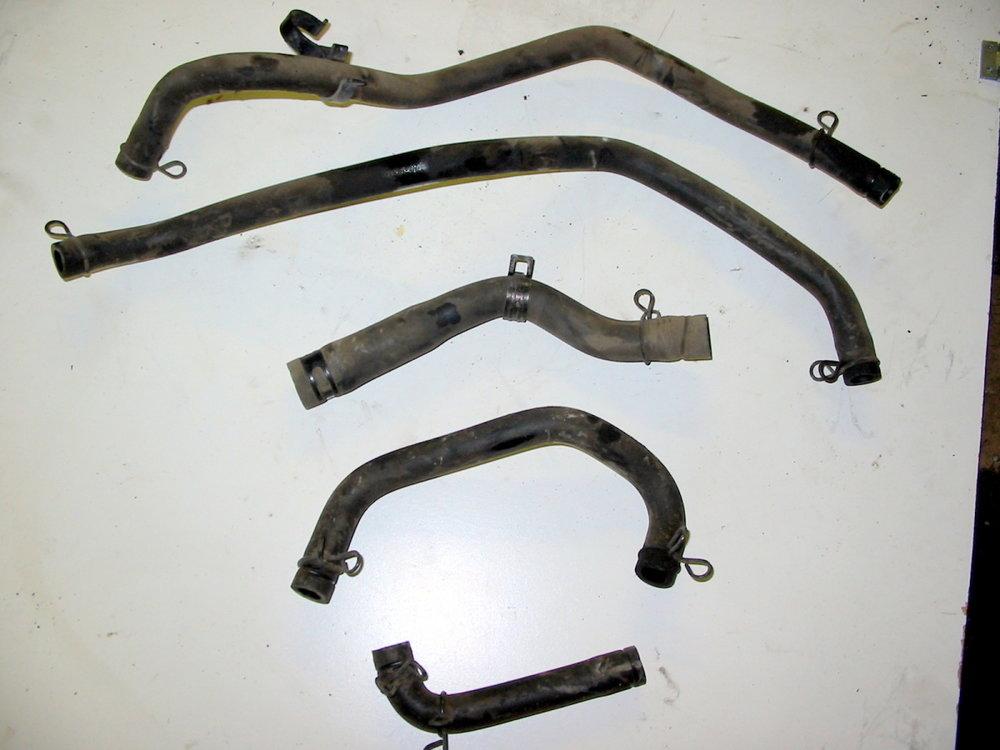 PCV hoses (1990-1994 Legacy)