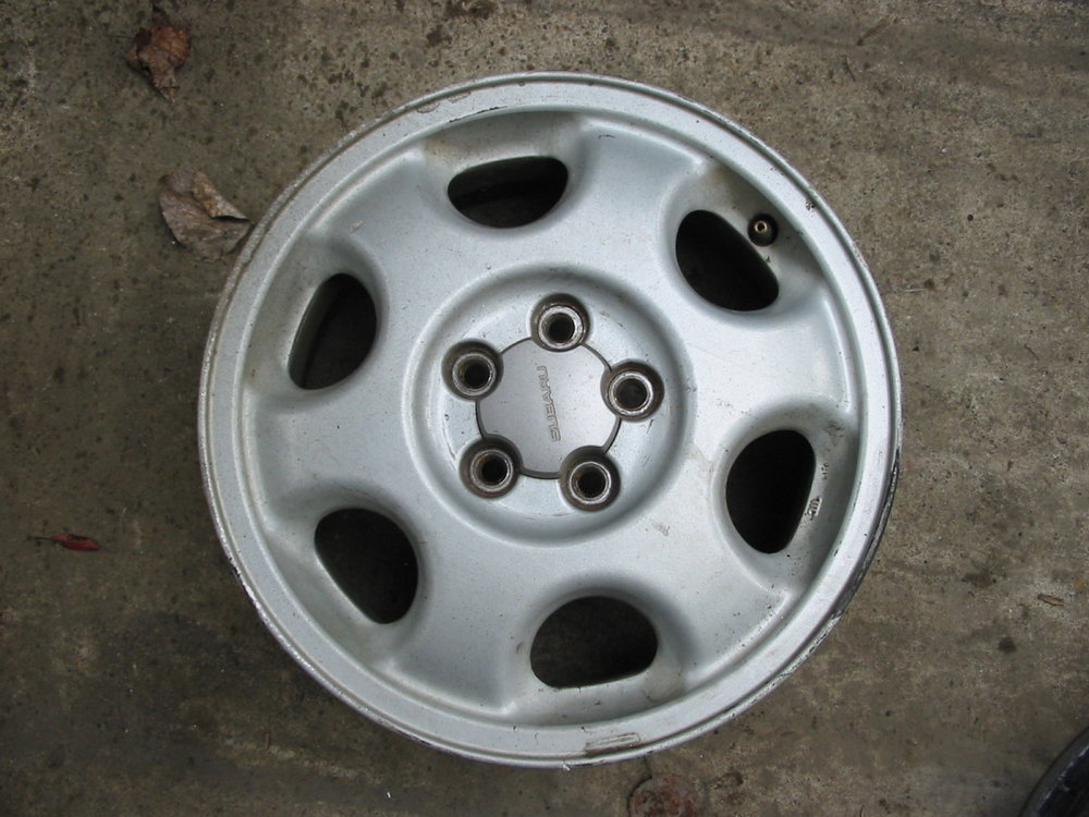 Wheel, alloy, 90-94 Legacy turbo (1990-1994 Legacy)