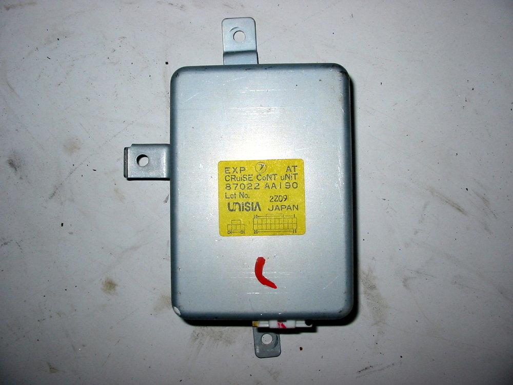 Control unit, cruise control # 87022AA190 (1990-1994 Legacy)