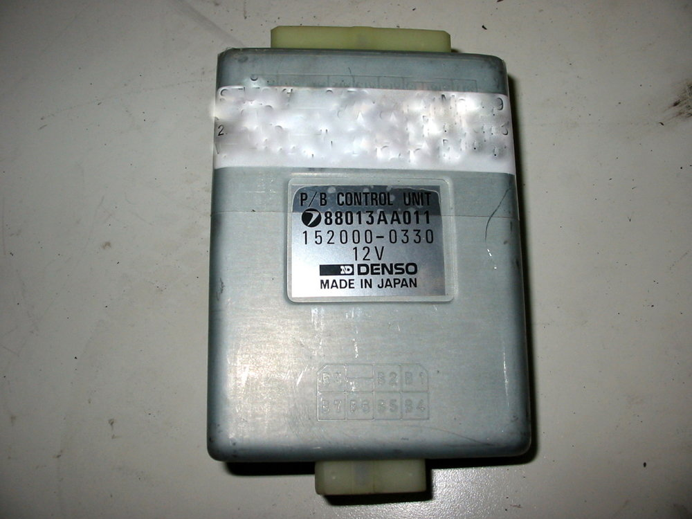 Control unit, power seat belt # 88013AA011 (1990-1994 Legacy)