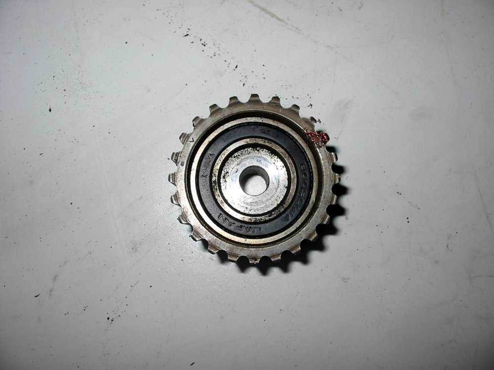 Timing belt pulley, @ water pump (1990-1994 Legacy)