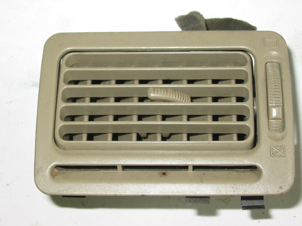 Trim, interior, dash vent, 92-94, passenger tan (1990-1994 Legacy)
