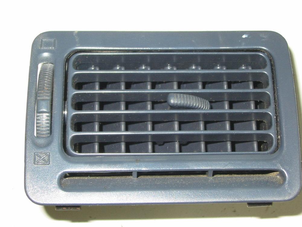 Trim, interior, dash vent, 92-94, passenger blue (1990-1994 Legacy)