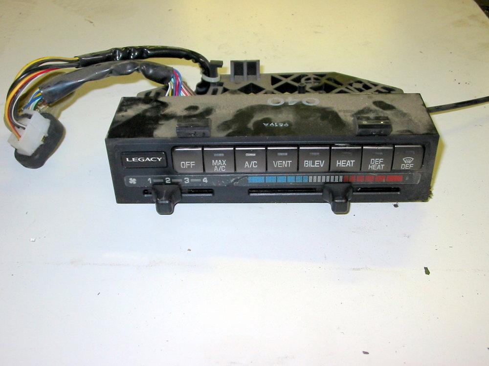 HVAC, mode control panel (1990-1994 Legacy)