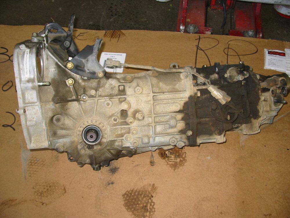 Transmission, 5 MT (1990-1994 Legacy)