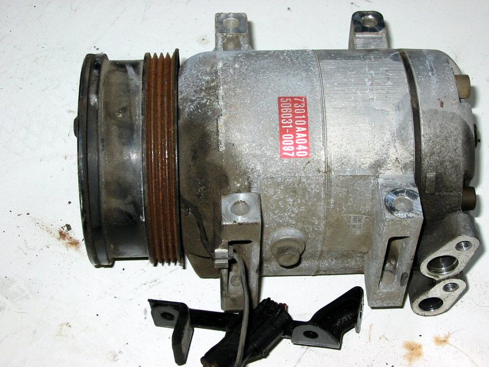 HVAC, A/C compressor # 73010AA040 (1990-1994 Legacy)