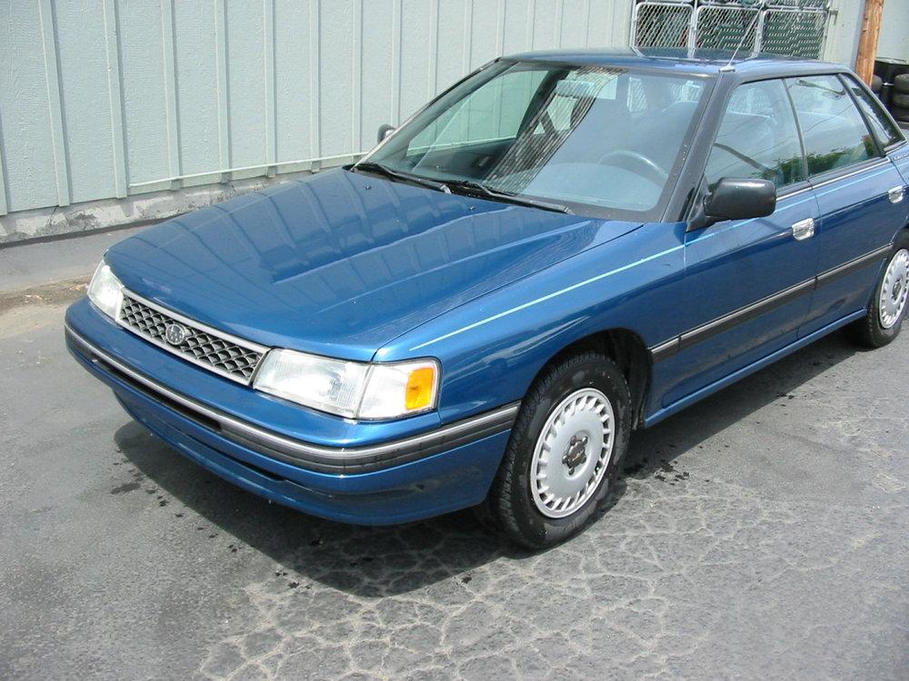 1991 Subaru Legacy sedan LF