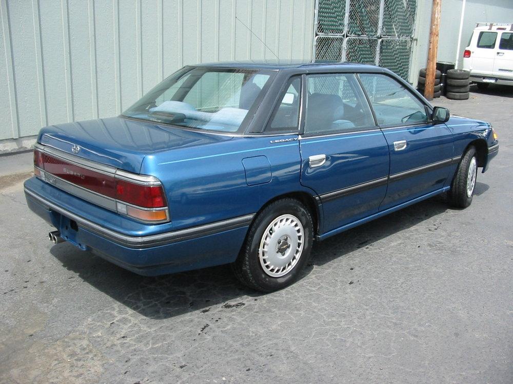 1991 Subaru Legacy sedan RR