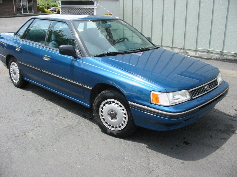 1991 Subaru Legacy sedan RF