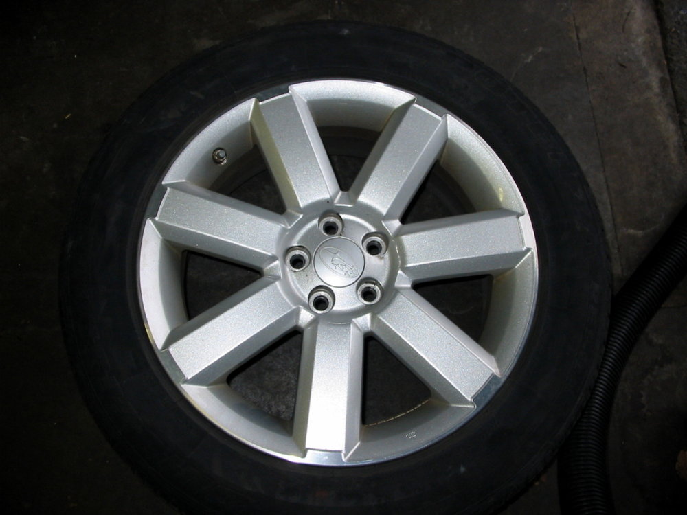 7 spoke 17'' alloy