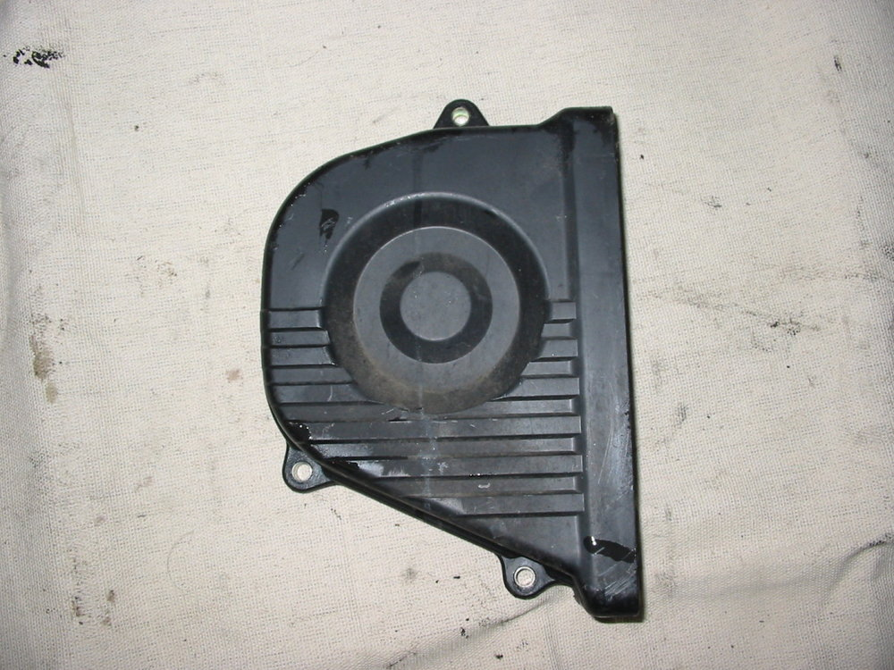 Timing cover, RH outer (1993-1997 Impreza)