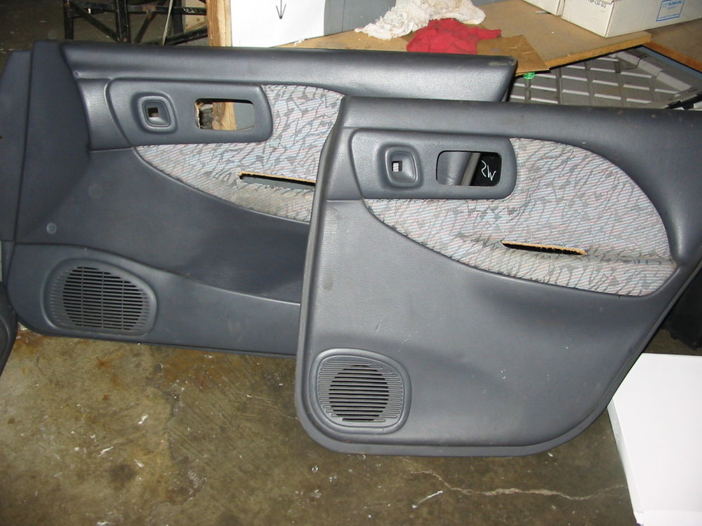 97 Door Panels, RF and RR (1993-1997 Impreza)