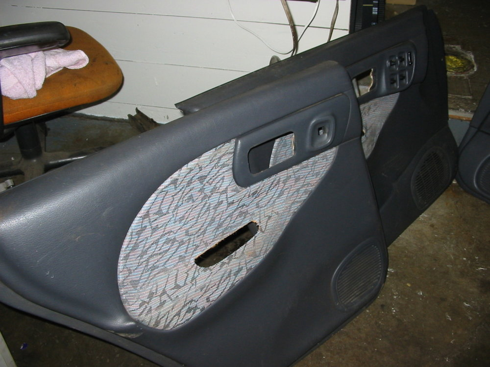 97 Door panels, LF and LR (1993-1997 Impreza)
