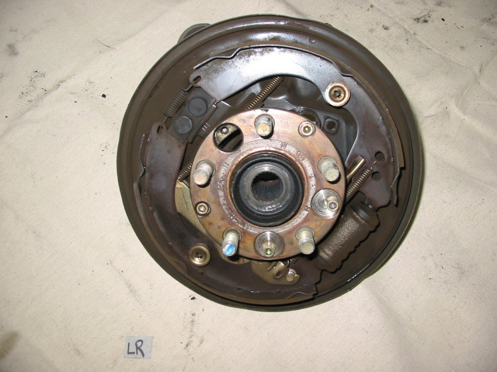 Knuckle, LR, Drum, A.B.S (1993-1997 Impreza)