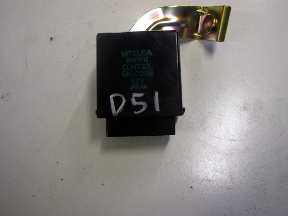 Control unit, Wiper (2002-2007 Impreza)