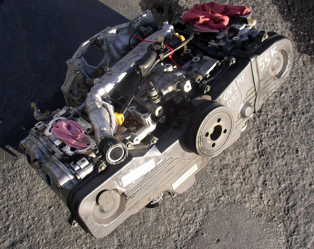 Engine, SOHC 2.5, 55k (2002-2007 Impreza)