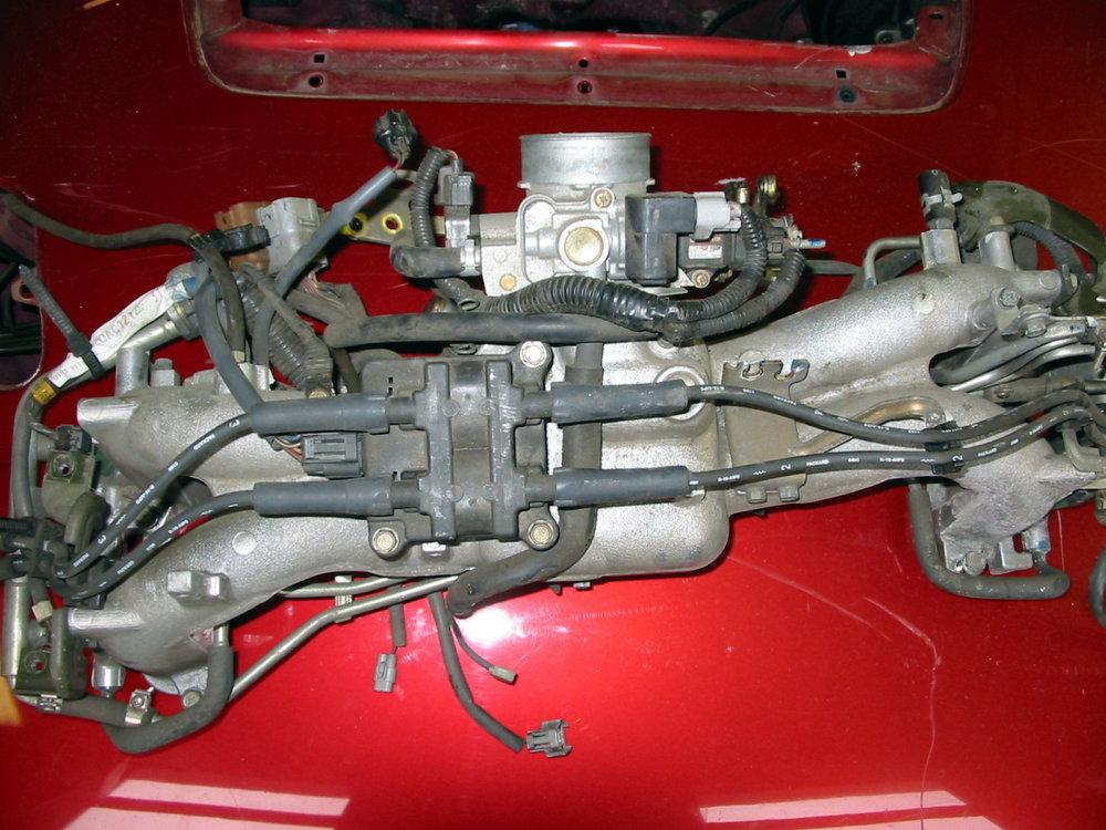 Intake manifold complete (1998-2001 Impreza)