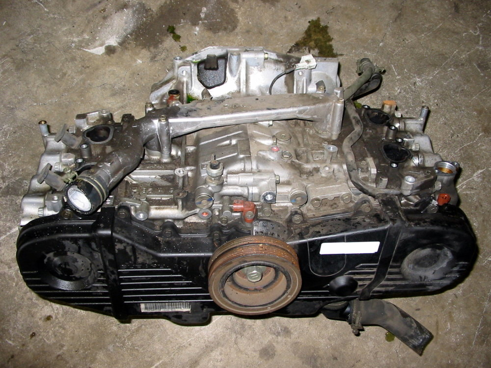 Engine, 2.2, single exhaust, no EGR (1998-2001 Impreza)