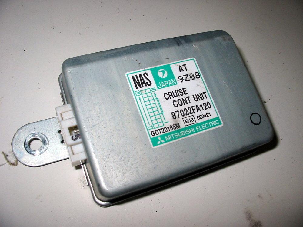 Control unit, cruise control # 87022FA120 (1998-2001 Impreza)
