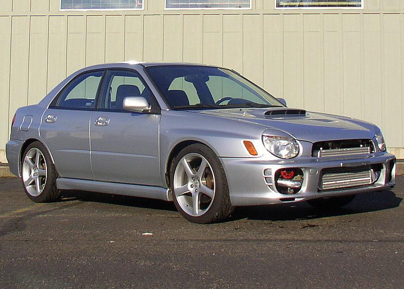 Jeff's 2002 WRX Sedan