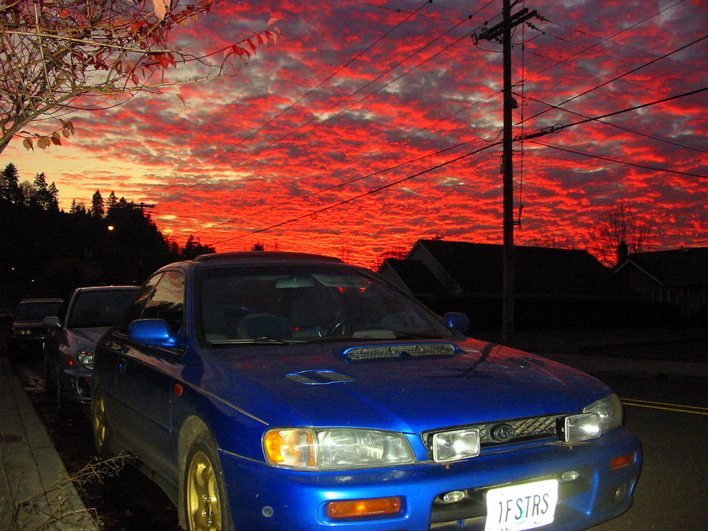 Lewis' 1998 Impreza RS Coupe