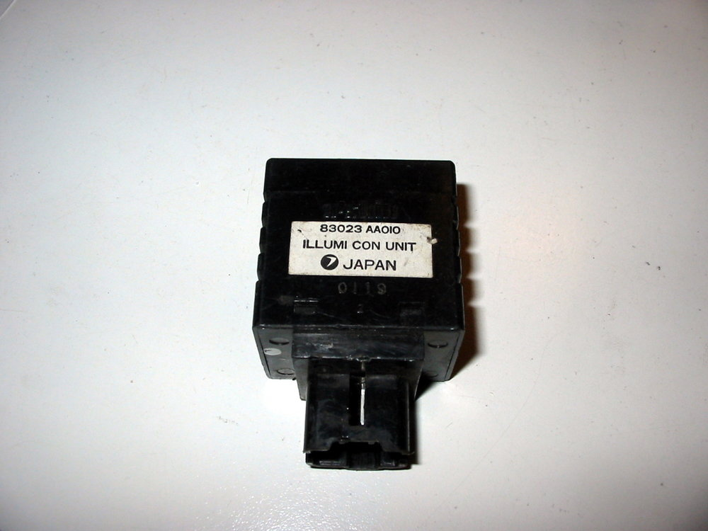 Control unit, illumination # 83023AA10, 783023021 (85-94 Loyale)