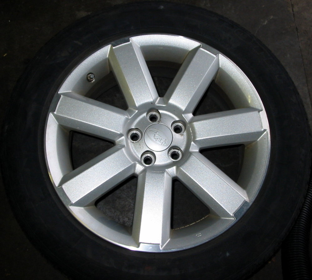 7 spoke 17'' alloy, 2007 Outback