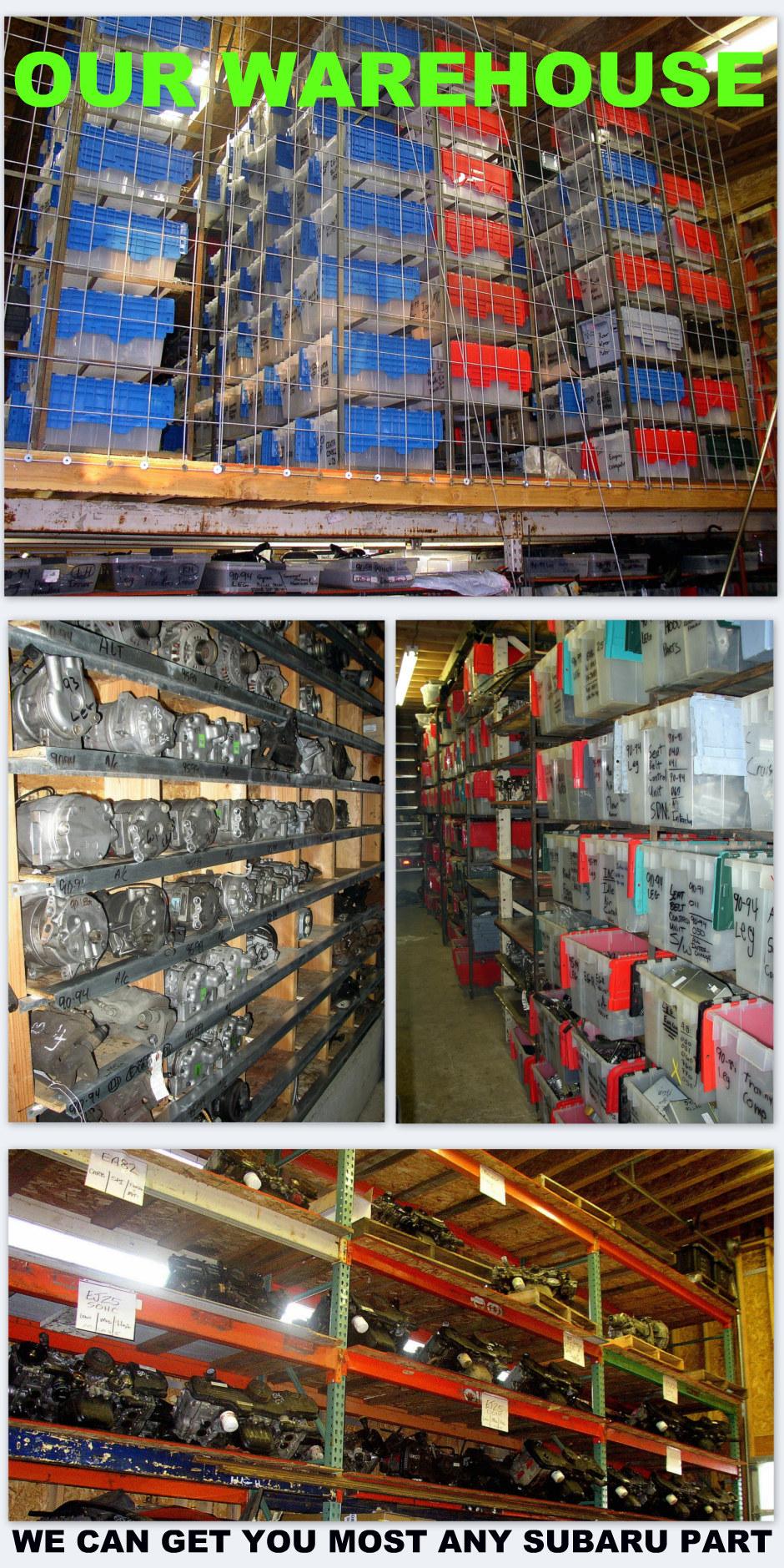 About used Subaru parts — Mountain Tech Inc  Subaru Specialist
