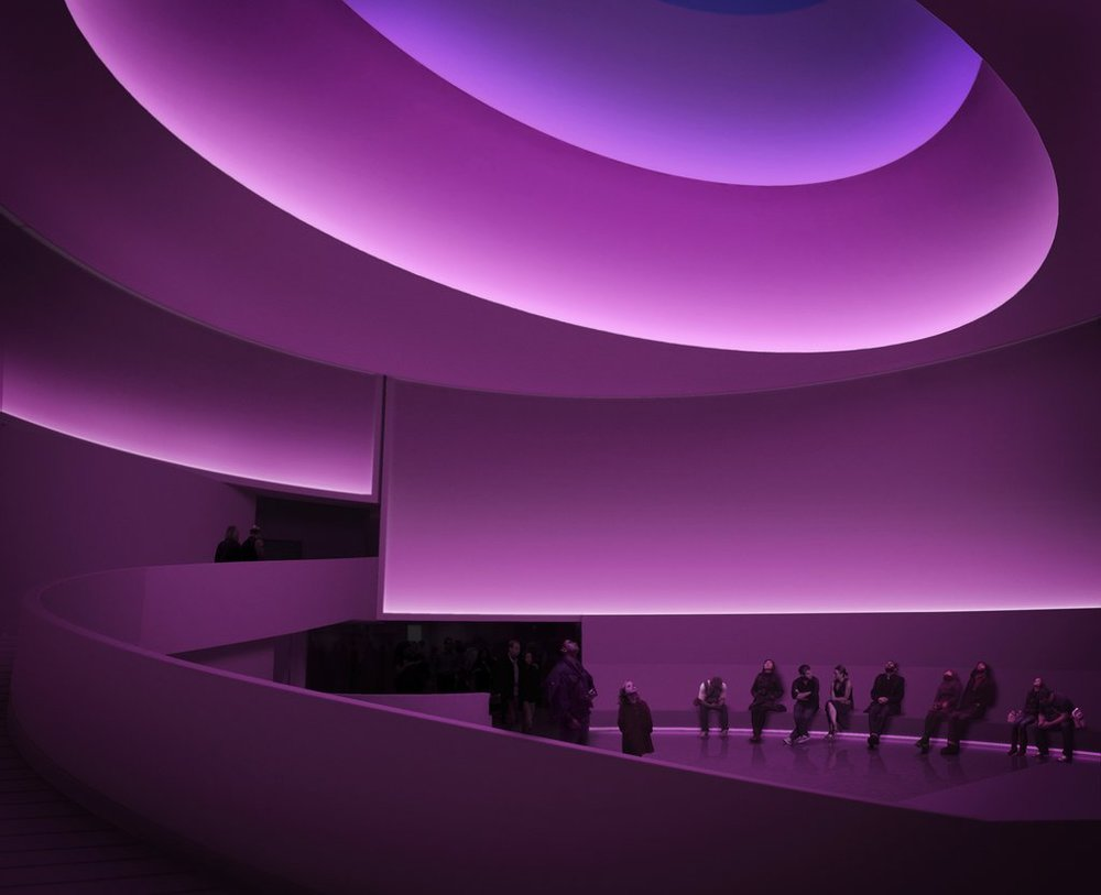James Turrell at the Guggenheim Museum, 2013