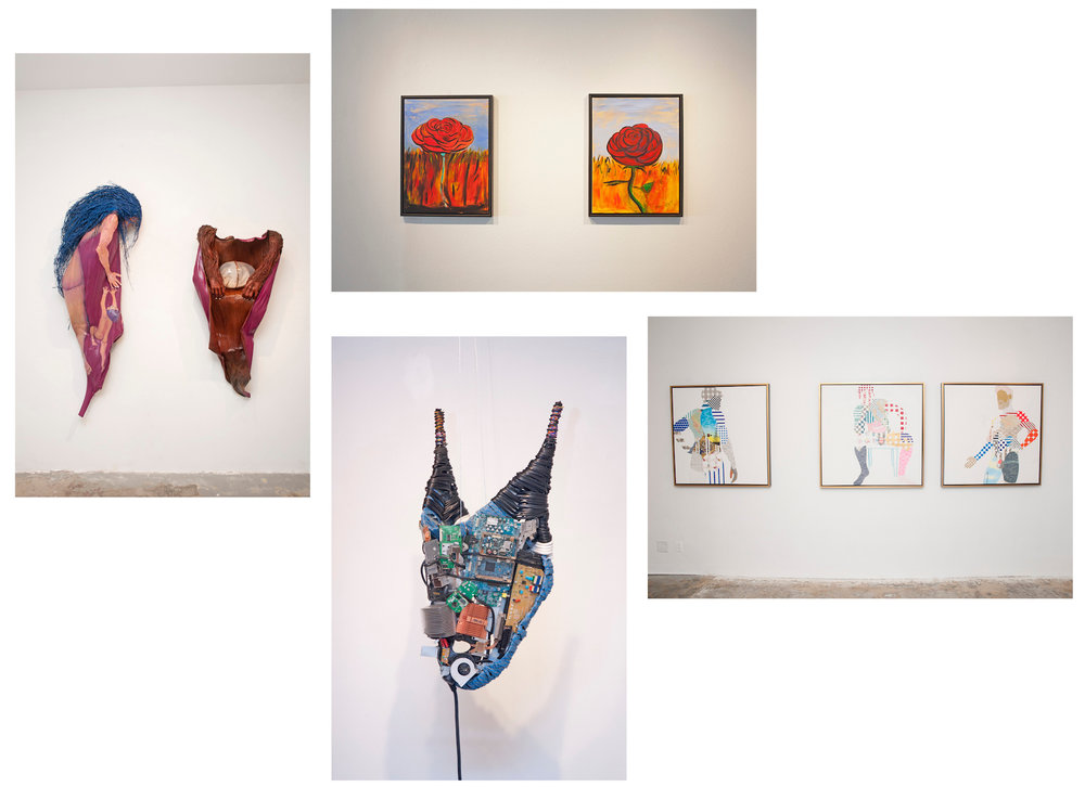 - Currently Exhibiting:Pam Douglas, K Ryan Henisey,BORIS LITVINOV, & KAREN SARROWTuesday, August 28 - September 22Opening Reception: Saturday, Sept 1, 6 - 10 pmArtist Talk: Saturday, Sept 15, 3 PMGallery Hours:Tuesday - Saturday, 11 am - 5 pmTelephone: 310.829.95565458 Wilshire Blvd, Los Angeles, CA 90036Press Release | Map | Installation Images | Whew Chile!