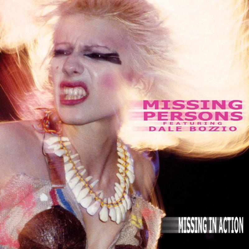 Missing Persons Featuring Dale Bozzio Album Cover